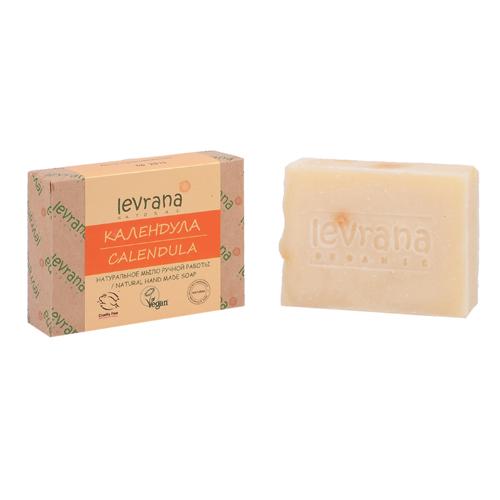 Купить Levrana Натуральное мыло ручной работы Календула 100г