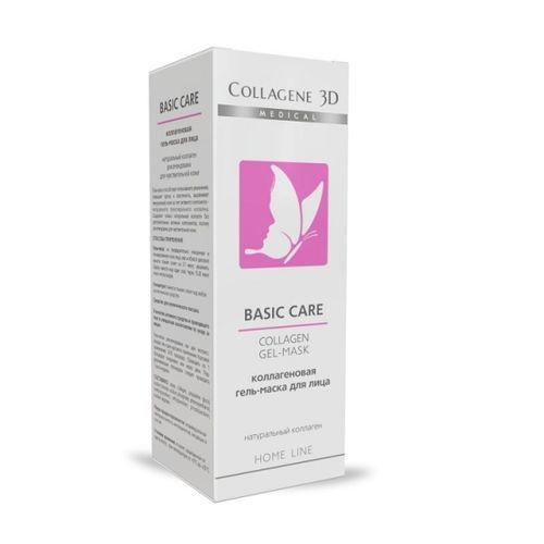 Купить Коллаген 3Д BASIC CARE Гель-маска для лица чистый коллаген, для чувствительной и склонной к аллергии кожи 30 мл, Collagene 3D