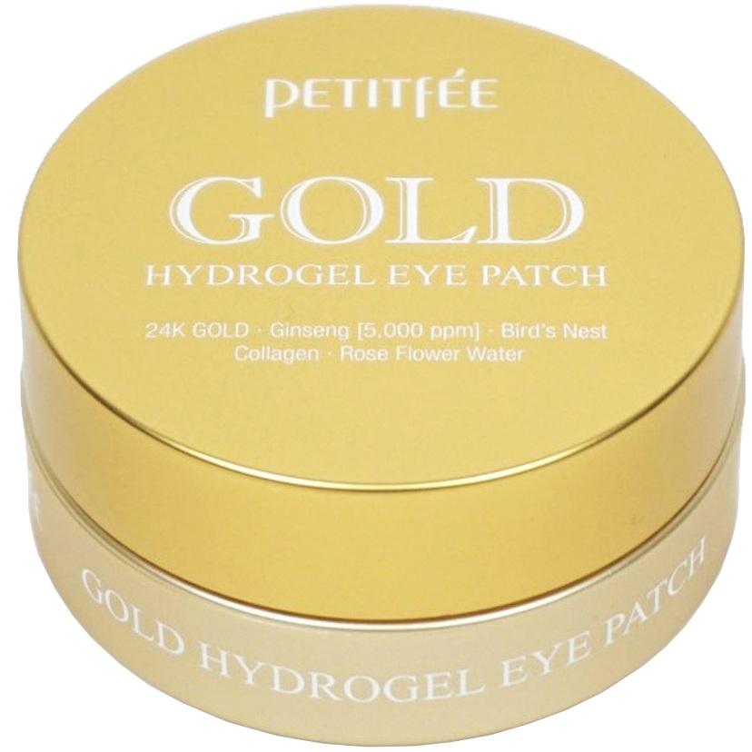 Купить Petitfee патчи для век гидрогелевые ЗОЛОТО Gold Hydrogel Eye Patch 60шт