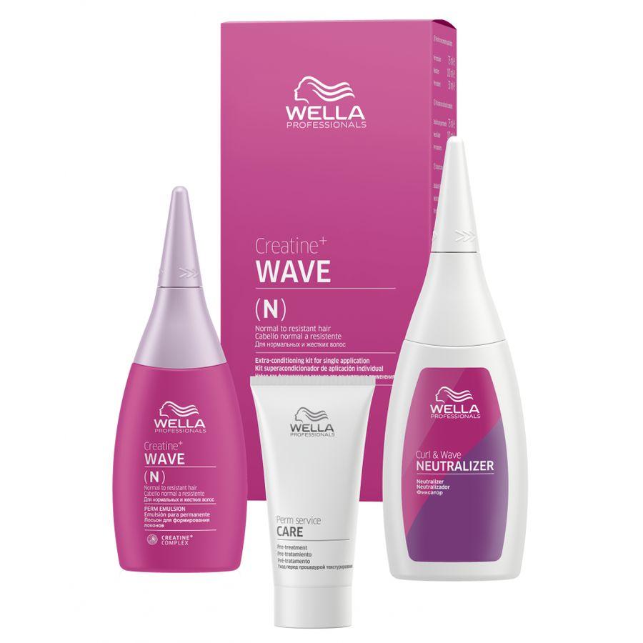 Купить Wella CREATINE+ WAVE(N) Набор для нормальных волос 30/75/100
