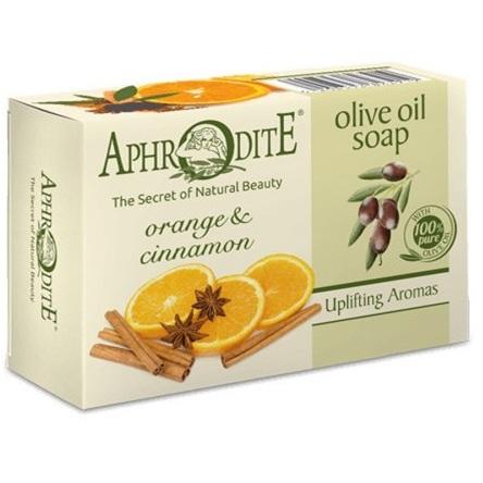 Купить Aphrodite Мыло оливковое с апельсином и корицей 100 г