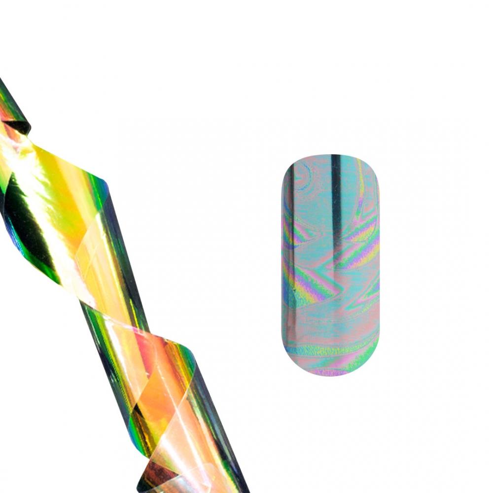 Tnl фольга для литья (голографические волны)