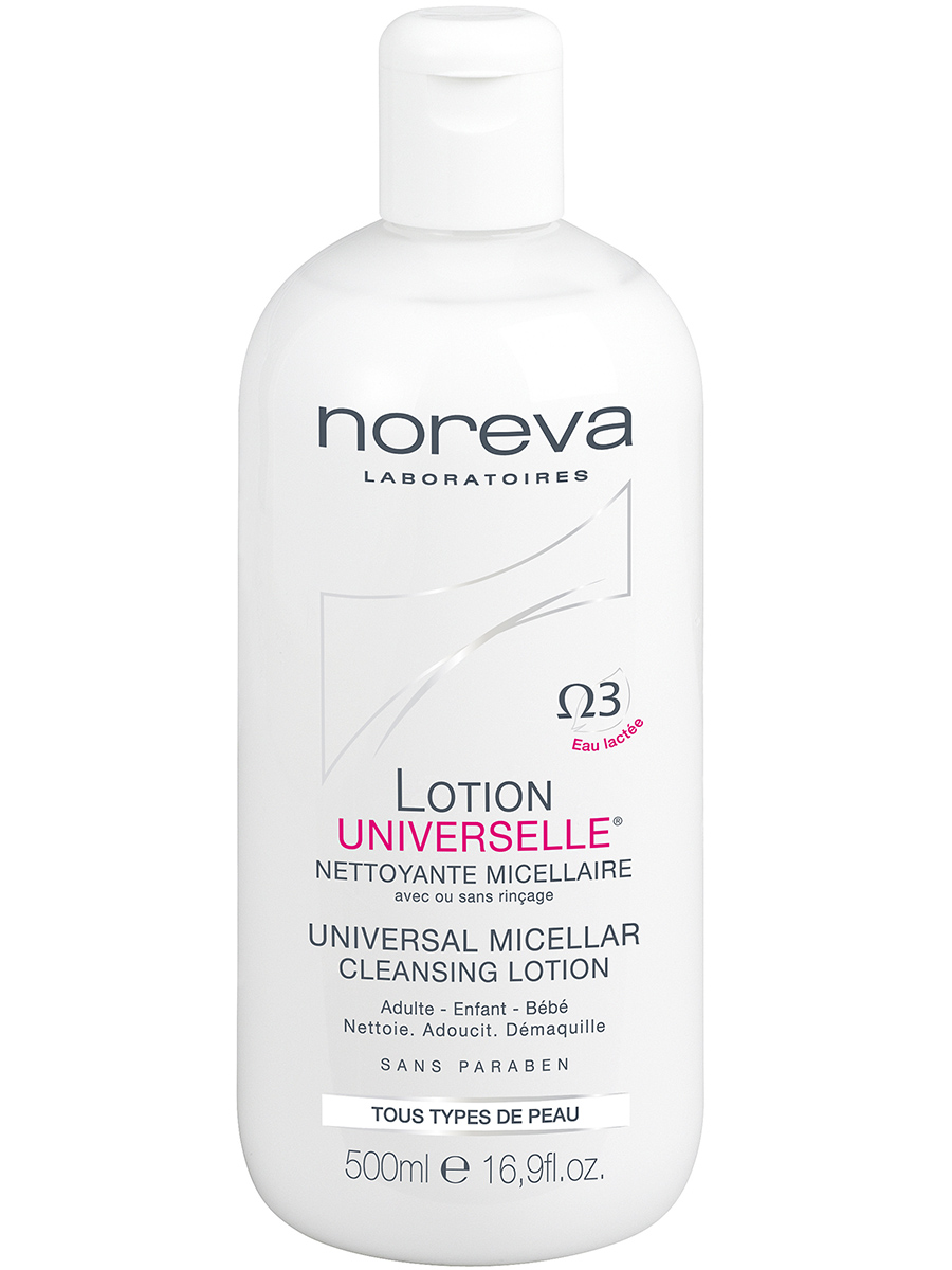 Купить Норева (Noreva) Универсальный очищающий мицеллярный лосьон 500 мл