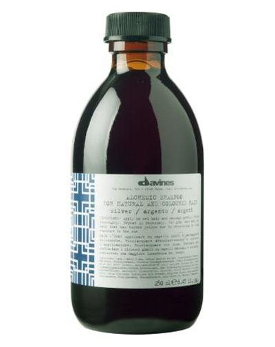 Купить Давинес (Davines) ALCHEMIC SHAMPOO for natural and coloured hair Шампунь АЛХИМИК для натуральных/окрашенных волос серебряный 280мл