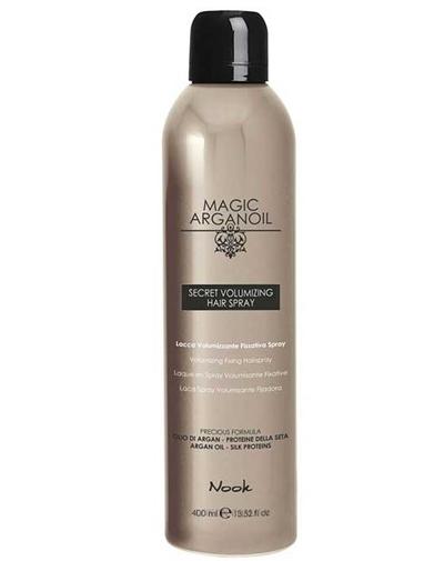 Nook Magic Arganoil Лак для объемных укладок волос Secret Volumizing Hair spray 400 мл