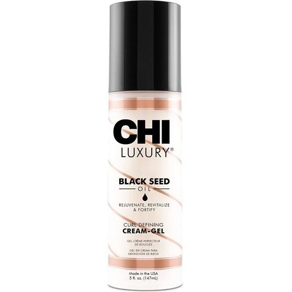 Купить CHI Luxury Крем-гель с маслом семян черного тмина для укладки кудрявых волос 147 мл CHILCG5