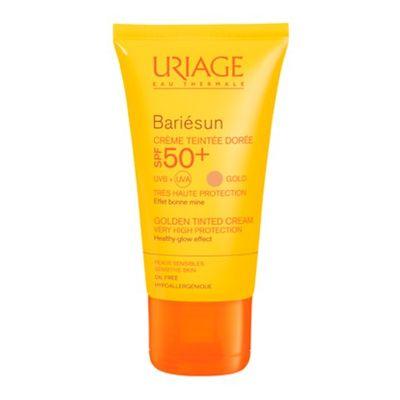 Купить Урьяж (Uriage) Bariesun SPF 50+ Тональный крем золотистый 50мл