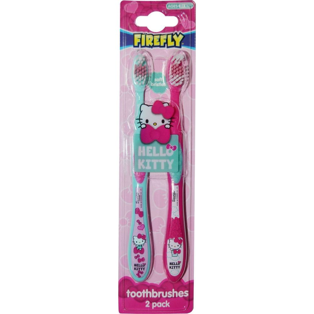 Hello Kitty Toothbrushes Набор детских зубных щеток 2 шт