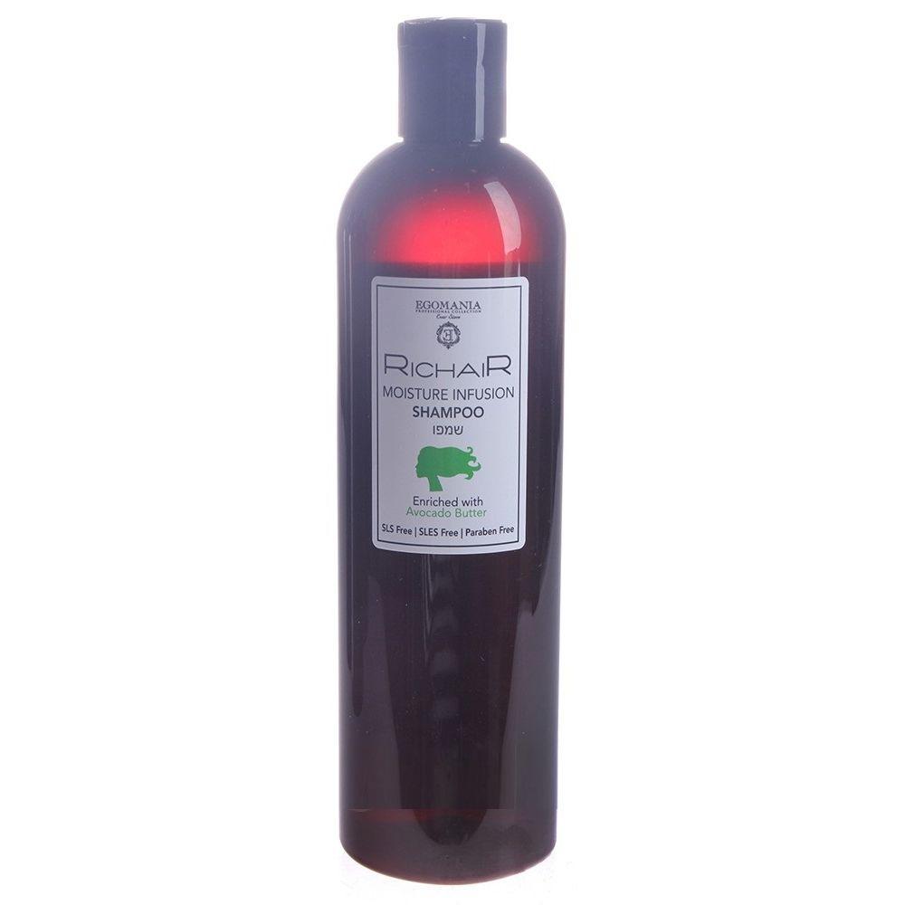 Купить Egomania Шампунь интенсивное увлажнение с маслом авокадо RICHAIR 400мл