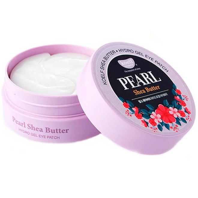 Купить Koelf Патчи для глаз гидрогелевые Жемчуг и масло ши Pearl & Shea Butter Hydrogel Eye Patch 60шт