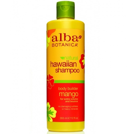 Купить Alba Botanica Гавайский шампунь с манго Hawaiian Shampoo Body Builder Mango 355 мл