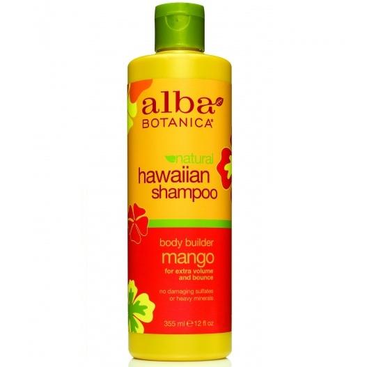 Alba Botanica Гавайский шампунь с манго Hawaiian Shampoo Body Builder Mango 355 мл