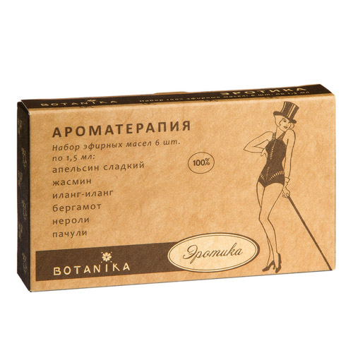 Botavikos Набор 100% эфирных масел Эротика 9мл