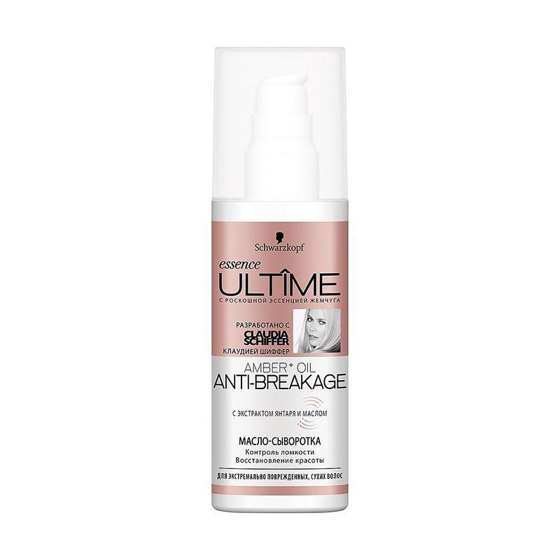 Essence Ultime AMBER + OIL Масло-сыворотка для экстремально поврежденных сухих волос 100 мл
