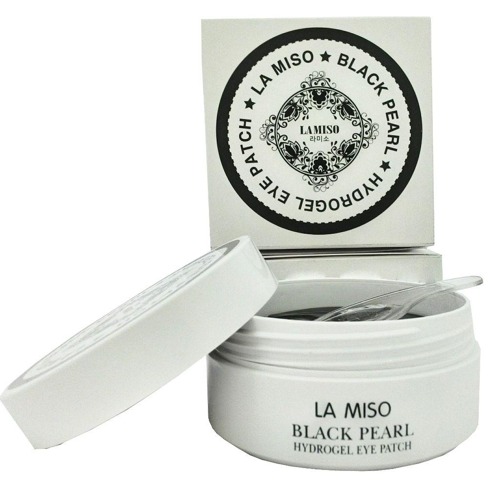 Купить La Miso (Ла мисо) Гидрогелевая маска с гиалуроновой кислотой для кожи вокруг глаз банка 60шт