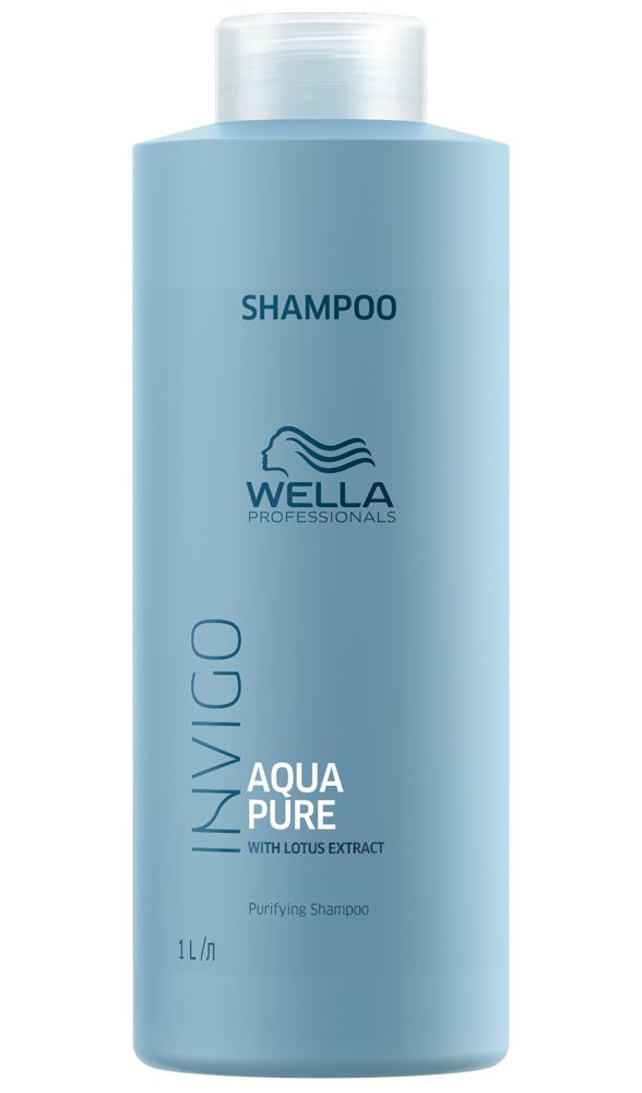 Купить Wella Invigo Balance Aqua Pure очищающий шампунь 1000мл