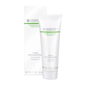 Янсен/Janssen Балансирующий крем с тонирующим эффектом 50 мл