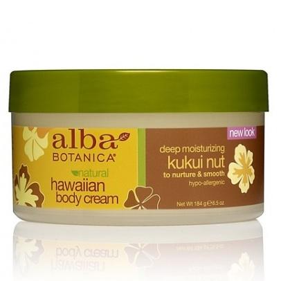 Alba Botanica Гавайский крем для тела с орехом кукуйи 184 г