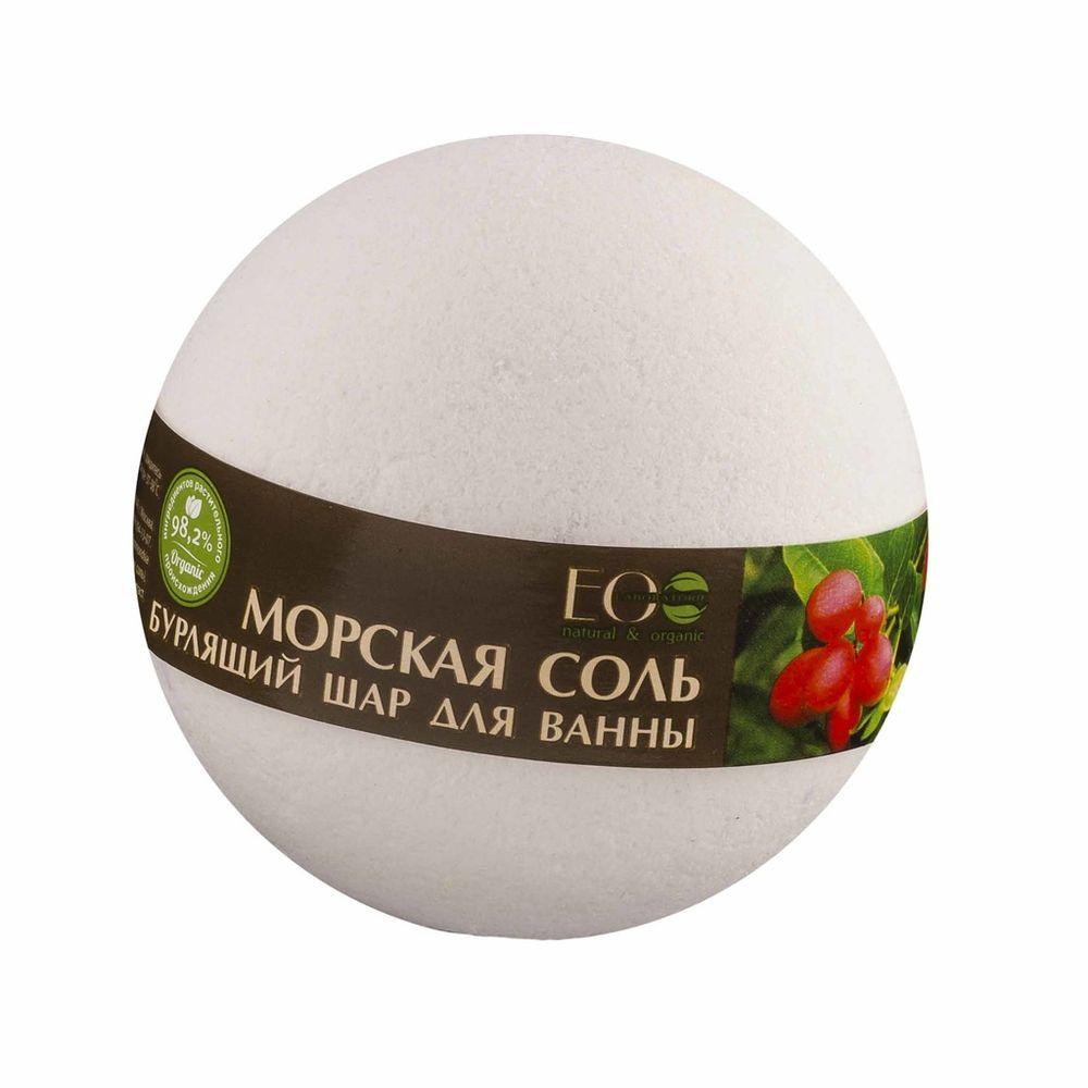 Купить Эколаб Бурлящий шар для ванны Ягоды асаи и годжи, Ecolab