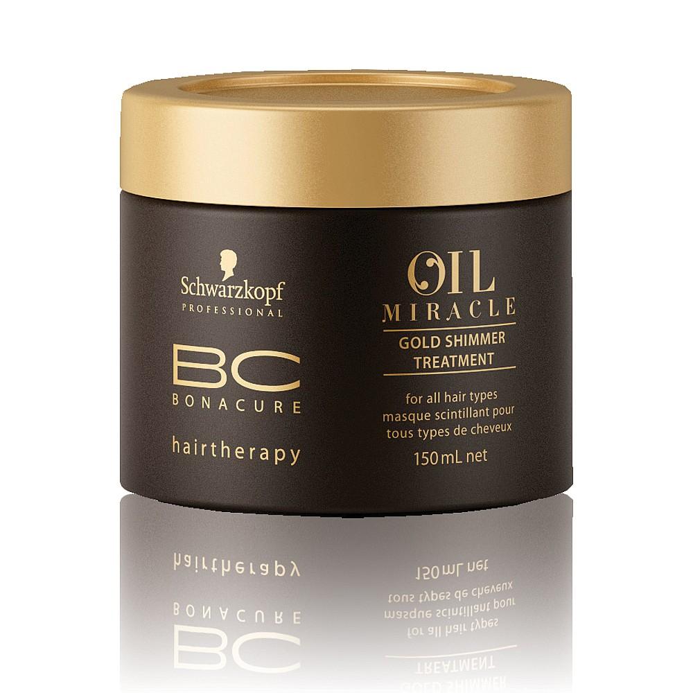 Schwarzkopf Бонакур Oil Miracle Маска Золотое Сияние с Аргановым маслом 150мл от Лаборатория Здоровья и Красоты