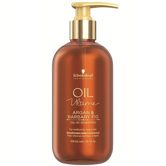 Купить Schwarzkopf Oil Ultime Шампунь для жестких и средних волос 300мл, Schwarzkopf Professional