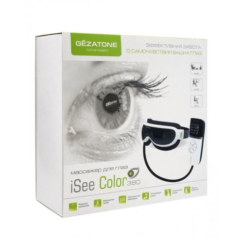 Gezatone массажер для глаз iSee380