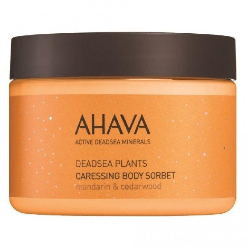 Ахава (Ahava) Deadsea Plants Нежный крем для тела мандарин и кедра 350мл