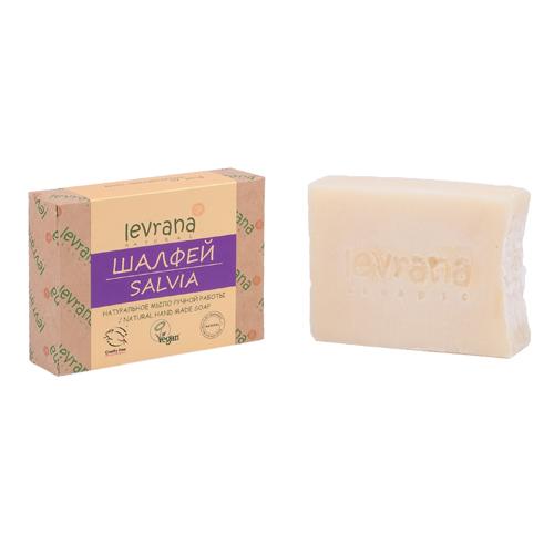 Купить Levrana Натуральное мыло ручной работы Шалфей 100г