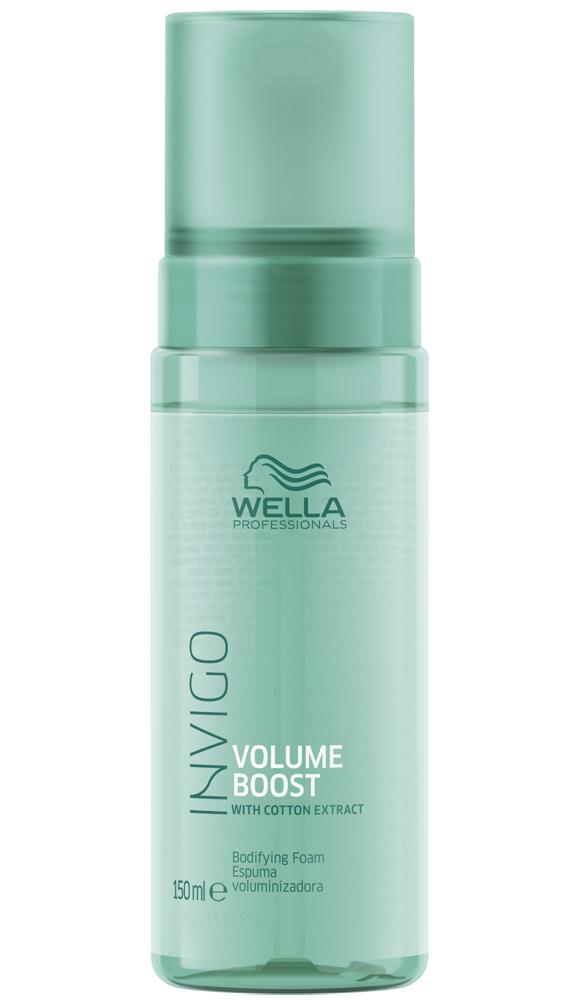 Купить Wella Invigo Volume Boost Мусс-уход для придания объема 150мл