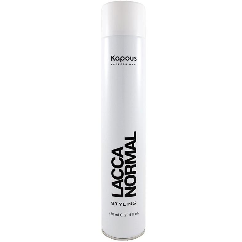 Купить Kapuos Лак аэрозольный для волос нормальной фиксации 750мл, Kapous