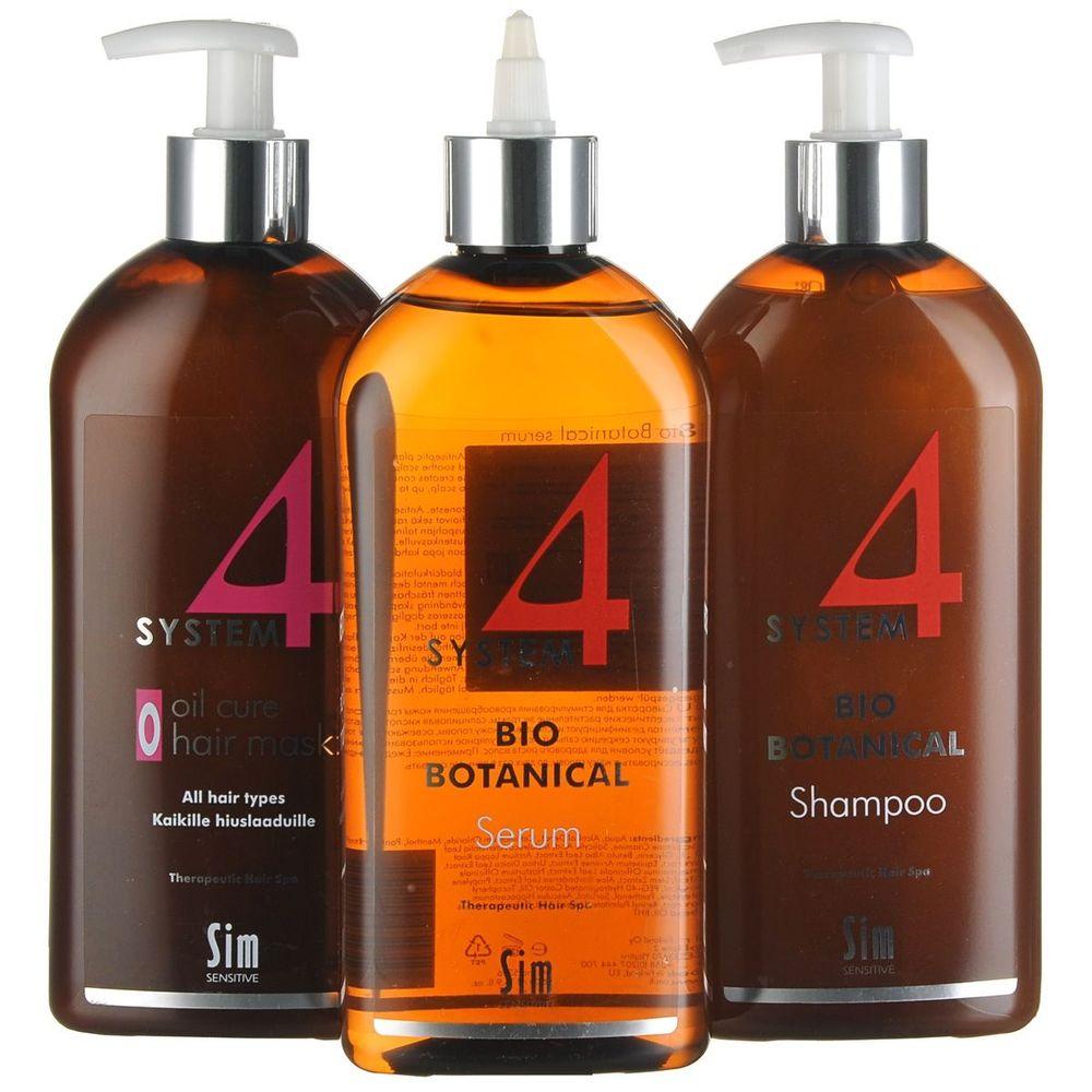 Sim Sensitive Система 4 комплекс от выпадения волос макси