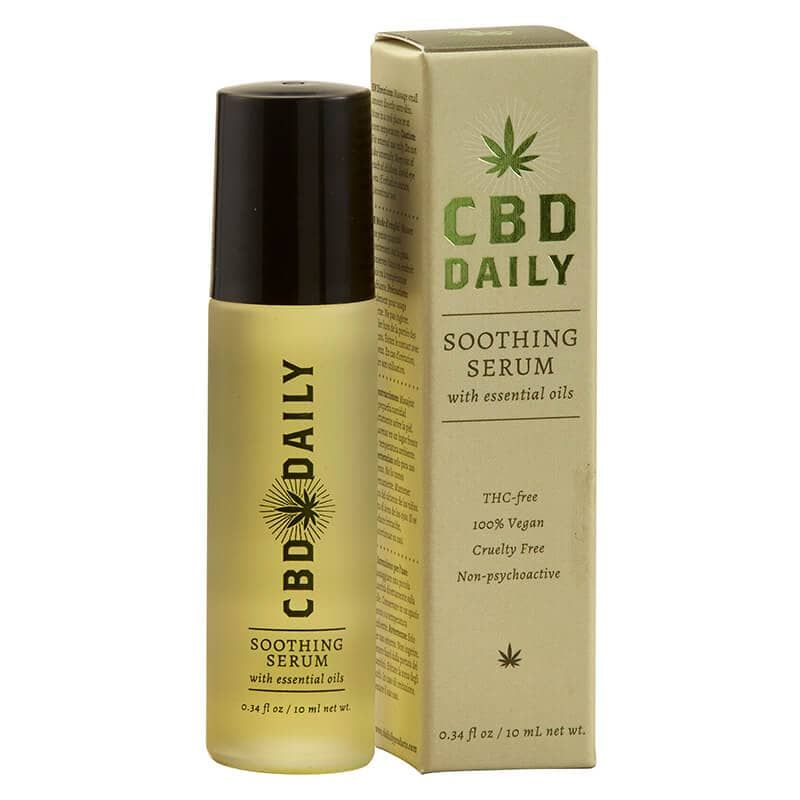 Купить CBD Противовоспалительная сыворотка с Коноплей для ежедневного применения с роликом 10мл, CBD Daily