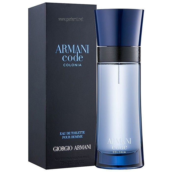 Купить GIORGIO ARMANI CODE COLONIA Туалетная вода мужская 75мл