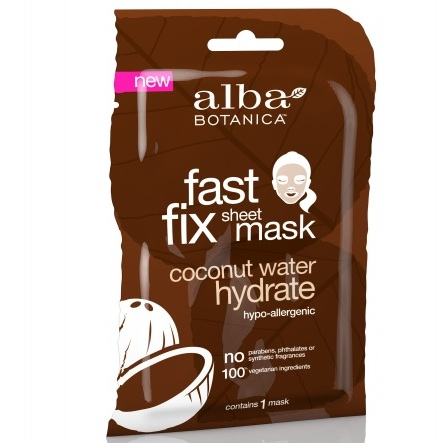 Alba Botanica Глубокоувлажняющая маска Fast Fix Coconut Milk Hydrate Sheet Mask 15г