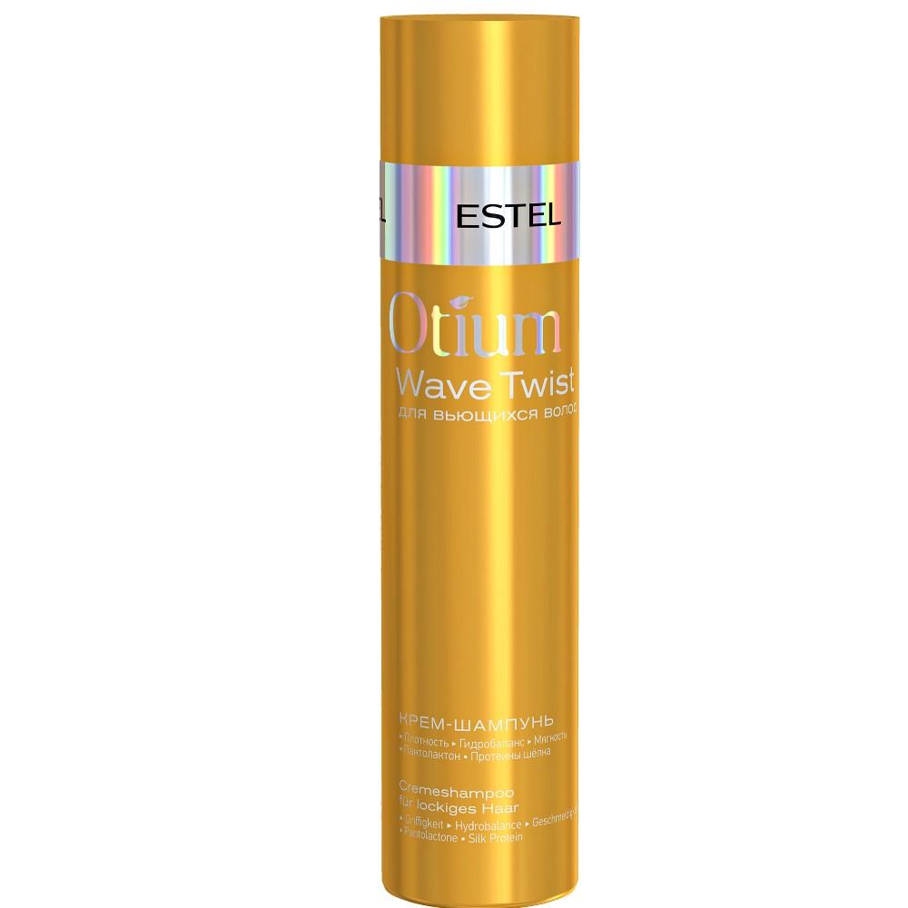 Купить Estel Otium Wave Twist Крем-шампунь для вьющихся волос 250мл