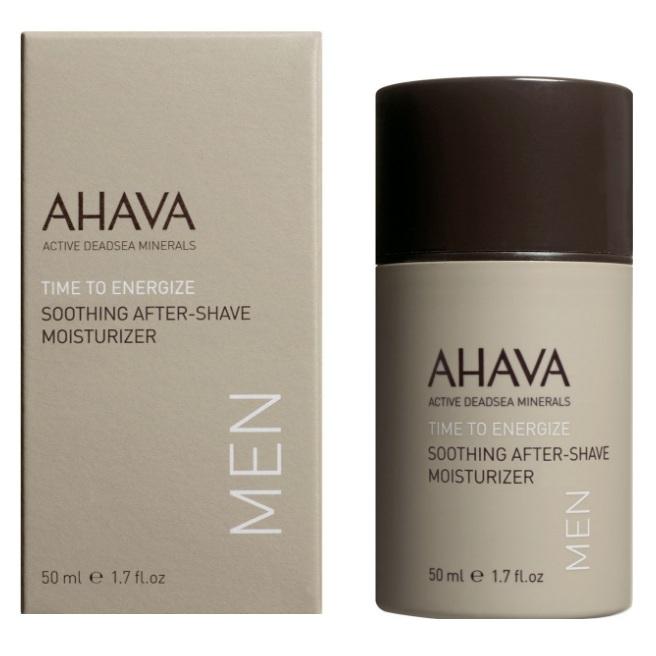 Купить со скидкой Ахава (Ahava) Time To Energize Успокаивающий увлажняющий крем после бритья 50мл