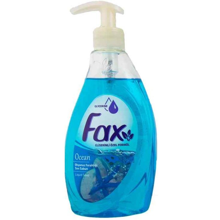 Fax Жидкое мыло с глицерином Океан 400мл