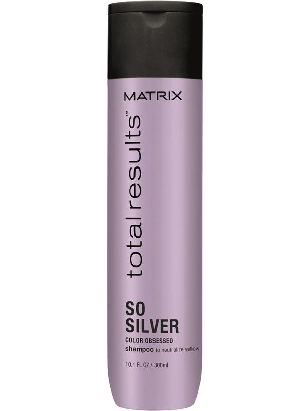 Купить Matrix Total results Color Obsessed So Silver Шампунь 300 мл