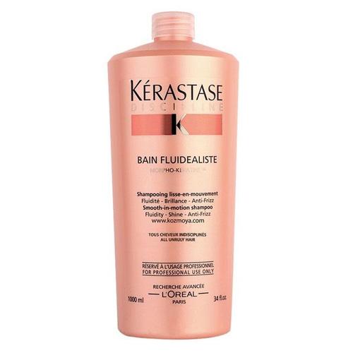 Купить Kerastase Дисциплин Шампунь-ванна Флюидеалист без сульфатов для гладкости и легкости волос 1000 мл
