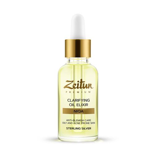 Купить Zeitun Эликсир масляный Niqa, для проблемной кожи лица с серебром 30 мл