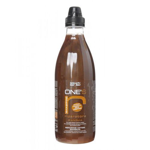 Купить Dikson ONE'S SAMPOO RIPARATORE Питательный шампунь с хитозаном для ломких, сухих и очень чувствительных волос 1000 мл