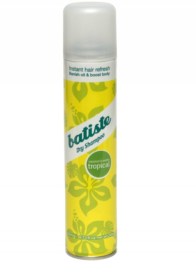 Купить Батист/Batiste Tropical Сухой шампунь с ароматом экзотических фруктов 200 мл