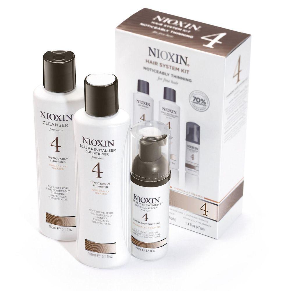 Nioxin Система 4 Набор 150мл+150мл+40мл