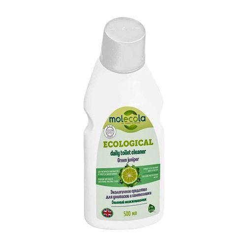 MOLECOLA Средство для чистки унитазов  и сантехники Зеленый можжевельник 500мл.