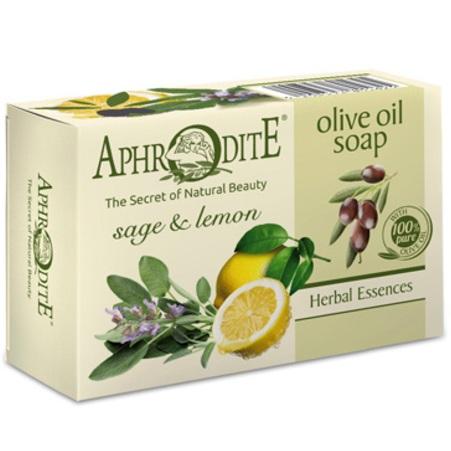 Купить Aphrodite Мыло оливковое с шалфеем и лимоном 100 г
